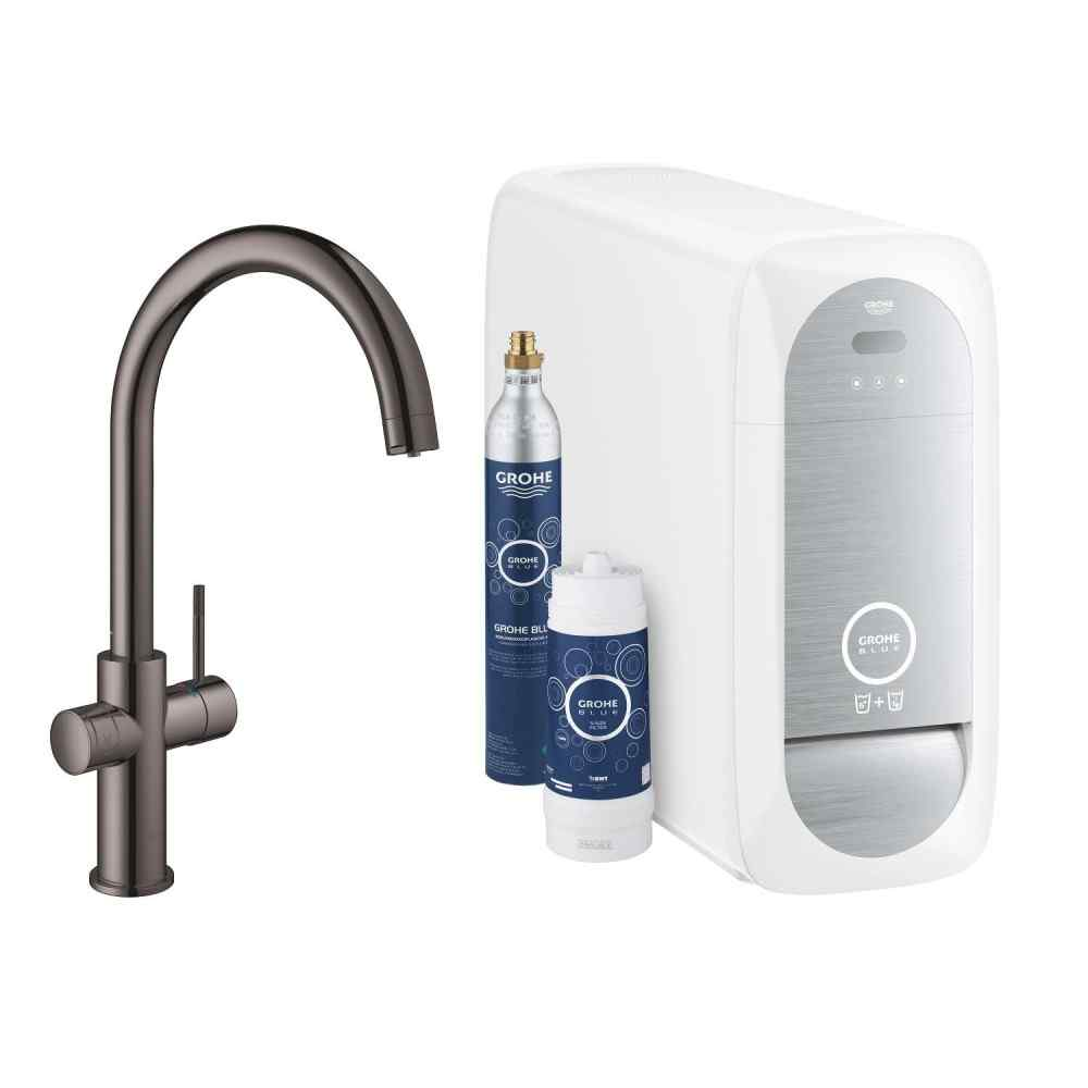 GROHE Blue Home - C-pip - Hard Graphite Watertrade