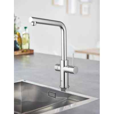 GROHE Blue Home - L-pip - Krom Grohe Blue Home