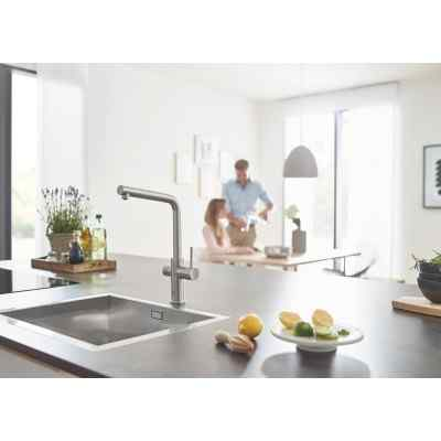 GROHE Blue Home - L-pip - Supersteel Grohe Blue Home