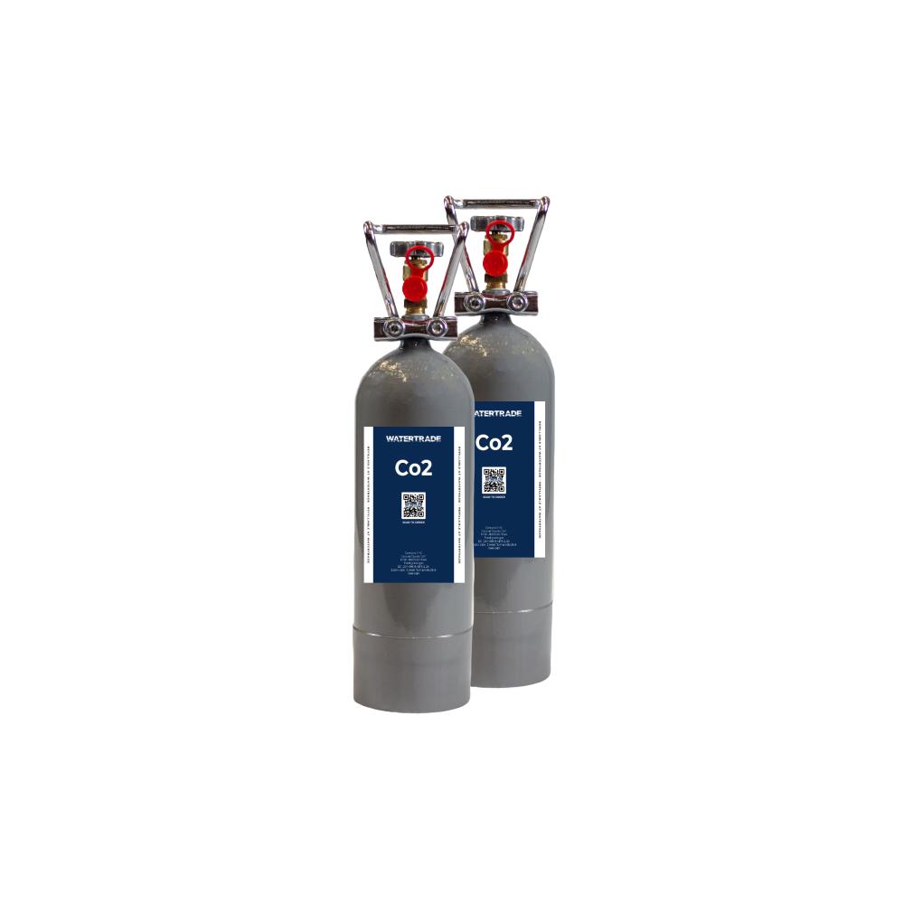 2 kg Co2 flaska (2 pak) Co2 flaska