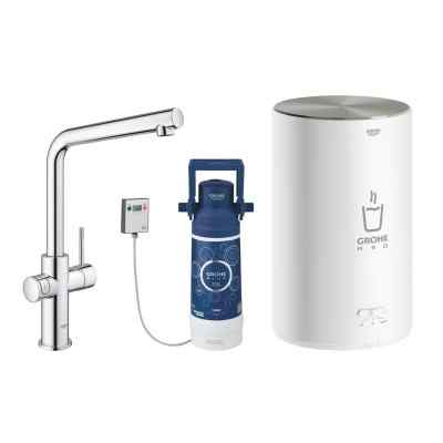 GROHE Red Duo - Krom - L-pip - Size M Watertrade