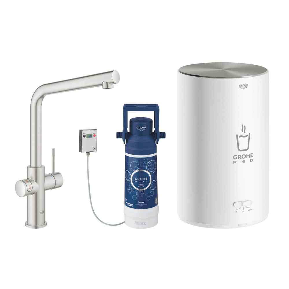 GROHE Red Duo - L-pip - M-size - Supersteel Grohe Red