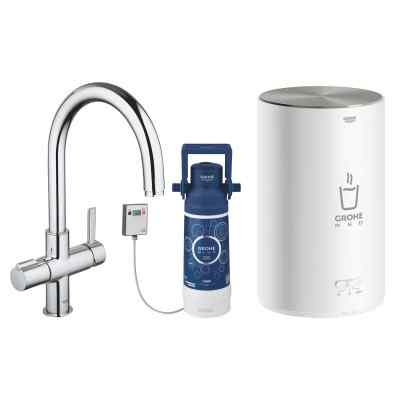 GROHE Red Basic model - C-pip - Krom Grohe Red