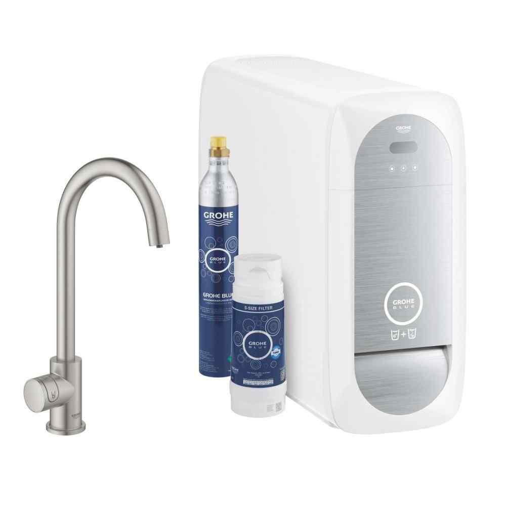 GROHE Blue Home Mono - C-pip - Supersteel Grohe Blue Home